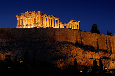 Acropolis of Greece photography by Darrell Godliman