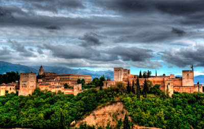 Alhambra Spain HDR photography