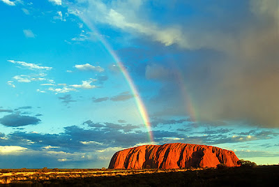 Ayers Rock photograph by Floydian