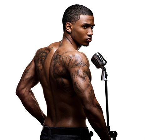 trey songz girlfriend helen. trey songz tattoos pictures.