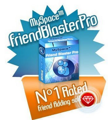 MySpace FriendBlasterPro 11.1.2 - software gratis, serial number, crack, key, terlengkap