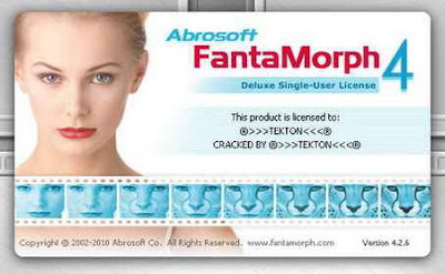 Abrosoft FantaMorph Deluxe 4.2.6 ML - software gratis, serial number, crack, key, terlengkap