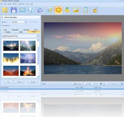 AMS Software Photo Effects Studio 2.71 - software gratis, serial number, crack, key, terlengkap