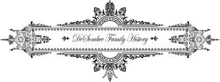 DeSombre Family History