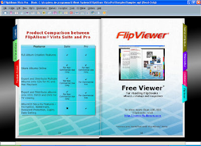 Portable FlipAlbum Vista Pro v7.0.1.363