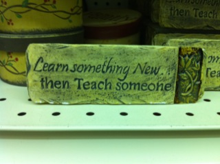 teach someone something essay A lot of unfortunate people think that learning for the sake of learning is something for it has never been easier than it is right now to learn something new and.