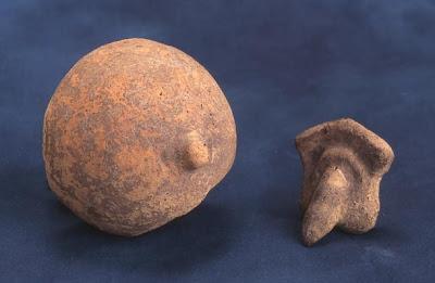 Woman naked and boun