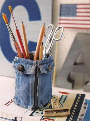 Ну вот, что сделать из старых джинсов понятно.  Теперь можно посмотреть...