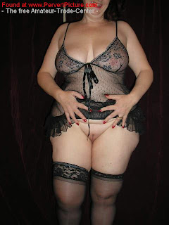mature lady in sexy lingerie