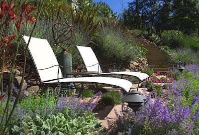 que se encuentra nuestro jardin es arido lo bueno seria aportarle juegos de agua y estanques que aporten a la manera de los antiguos jardines arabes