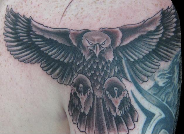 new eagle tattoo