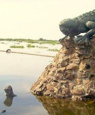 Monumento al Hombre Caimán en Plato Magdalena