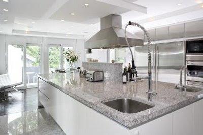 Soakedesign white grey kitchen colours - Grey white kitchen designs ...