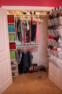 diy organized closet