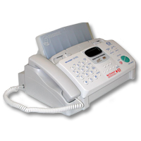 how to use a fax machine without a phone line