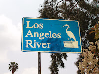 Los Angeles River sign