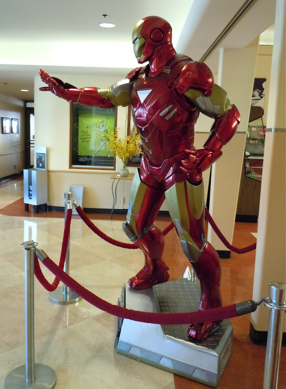 Iron Man 2 film suit