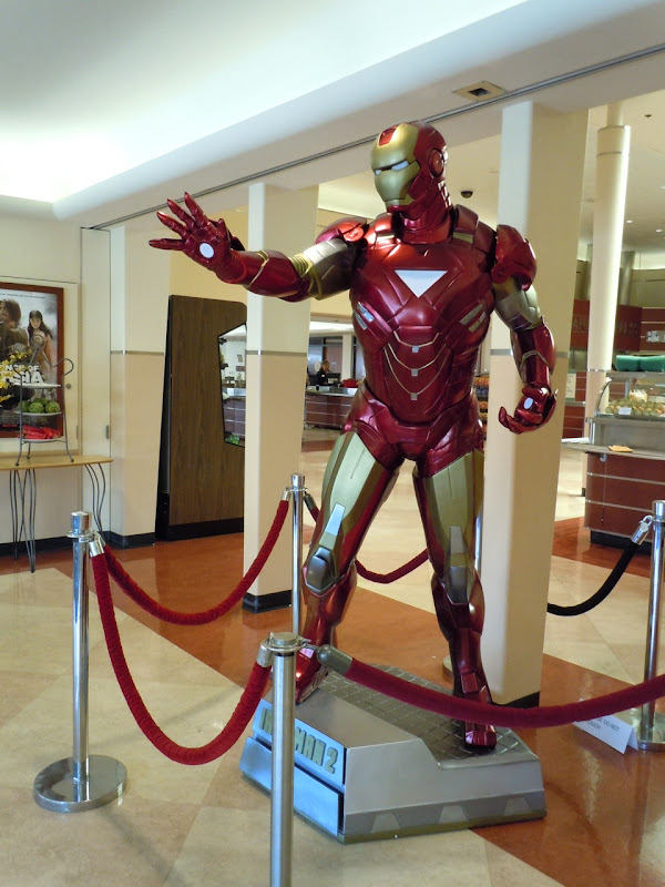 Actual Iron Man 2 movie costume