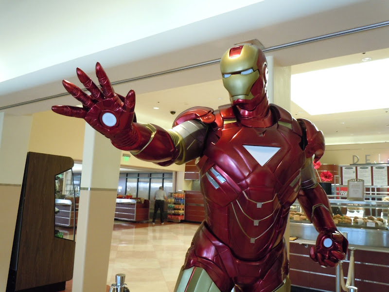 Iron Man 2 suit film costume