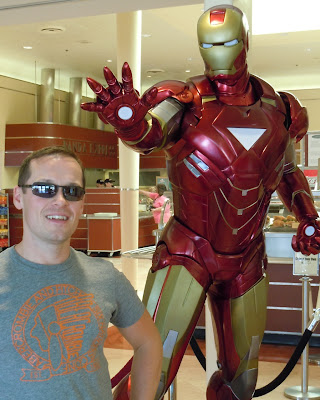 Iron Man 2 suit and Jason