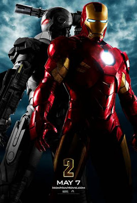 Iron Man 2 War Machine poster