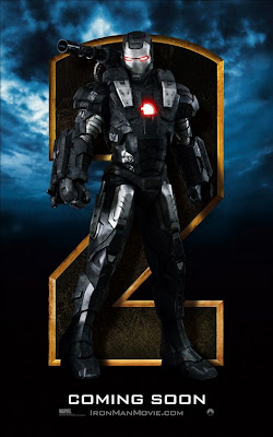 War Machine Iron Man 2 poster
