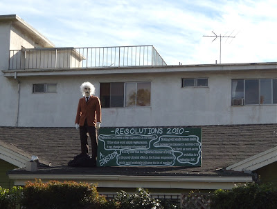 Einstein's 2010 vegetarian resolution