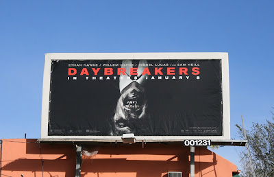 Daybreakers movie billboard