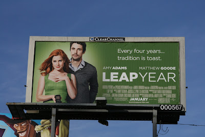 Leap Year movie billboard