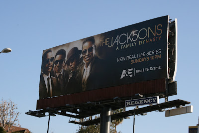 The Jacksons TV billboard