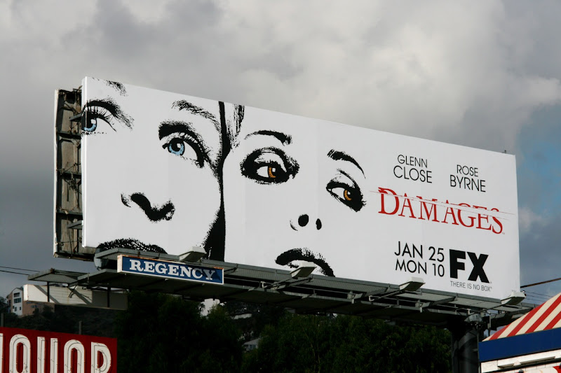 Damages season 3 TV billboard
