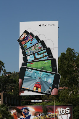 Ipod Touch billboard