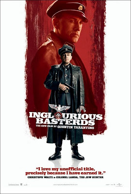 Inglourious Basterds Christoph Waltz poster