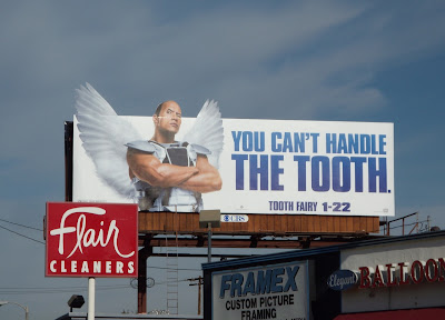 Tooth Fairy film billboard