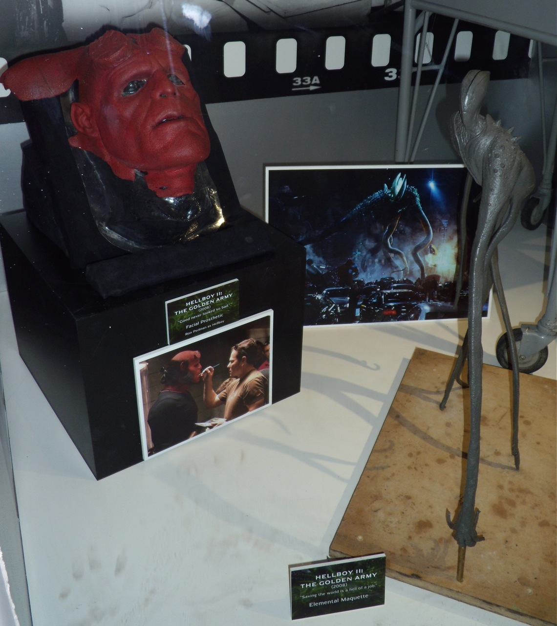 Hellboy 2 mask and elemental model
