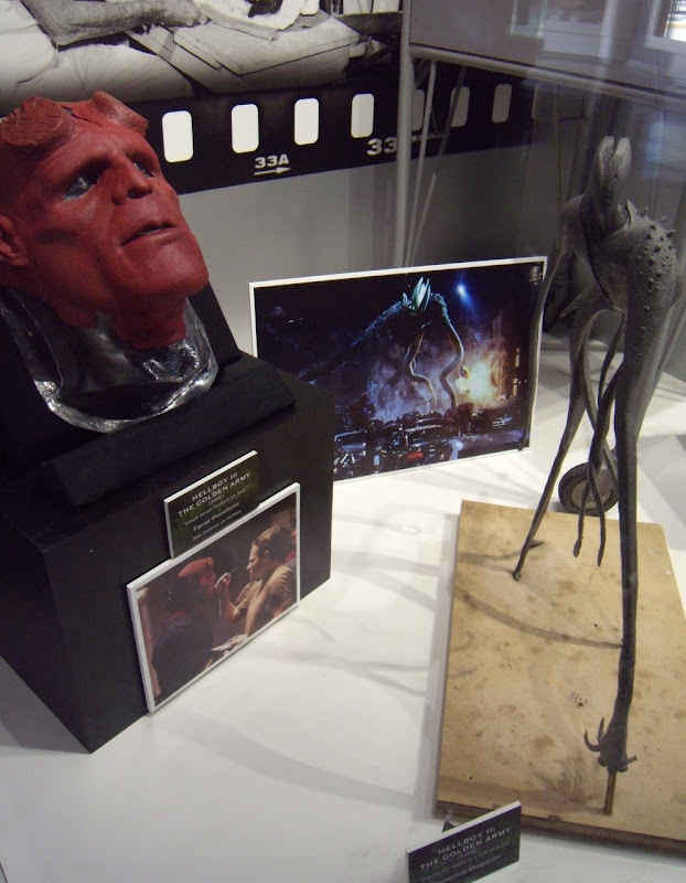 Original Hellboy 2 mask and maquette