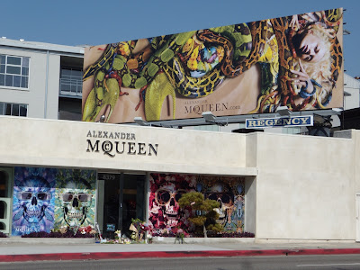 Melrose Avenue Alexander McQueen store