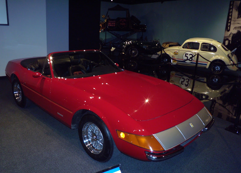 Gumball Rally Ferrari Spyder