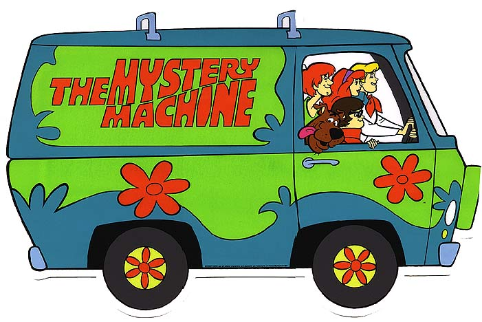 Original Mystery Machine animated version