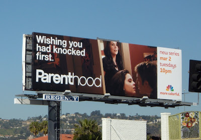 Parenthood knock first TV billboard