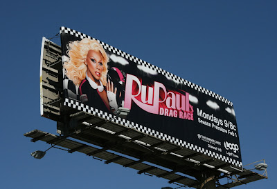 RuPaul's Drag Race TV billboard