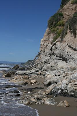 Arroyo Burro Beach shoreline