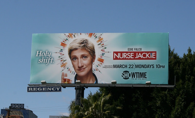 Nurse Jackie season 2 TV billboard