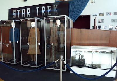 Star Trek movie costume exhibit