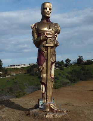 Horror Oscar statue DFACE