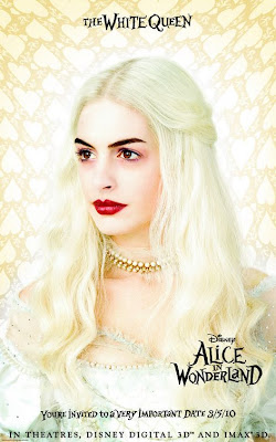 Alice in Wonderland White Queen poster