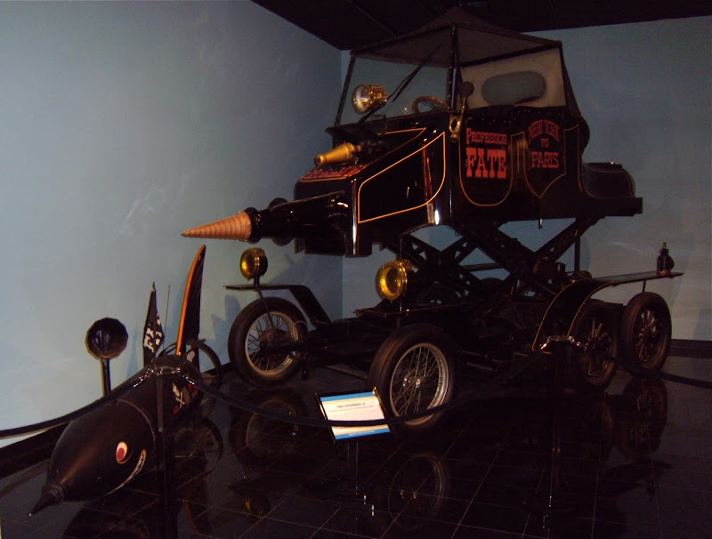 Professor Fate's Great Race movie car