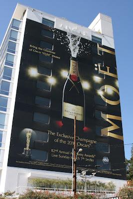 Moet champagne billboard