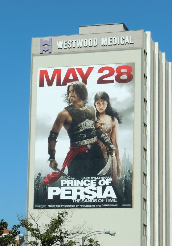 Prince of Persia Sands of Time film billboard