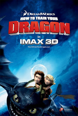 How to train your Dragon film poster